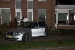 Auto tegen appartementencomplex Uden: 'Wonder boven wonder geen gewonden'