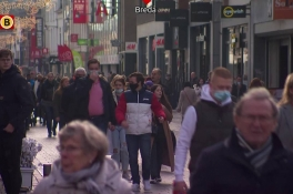 Drukte in Breda en Tilburg 'onder controle', winkels blijven open
