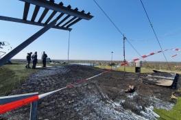 Jongen (14) meldt zich voor brandstichting bij Skischans Uden