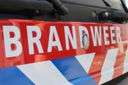 Uden - Brand gesticht bij autobedrijf in Uden