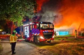 Campingbewoners denken dat brand is aangestoken: 'Gebeurt hier wel vaker'