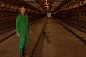 Ronny's kippenstallen staan leeg doordat de restaurants dicht zijn: 'Ik kan alleen maar wachte