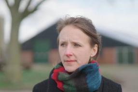 Stadse Liza (32) vond de liefde op de boerderij: 'Je leeft opeens in het ritme van de dieren'
