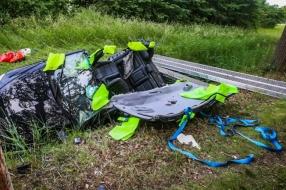 Vrouw (44) overleden bij verkeersongeval in Aarle-Rixtel