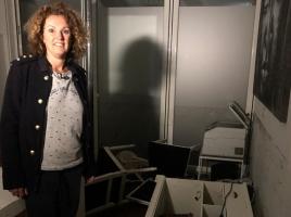 Massagepraktijk van Maud staat helemaal onder water na wolkbreuk: 'Spullen drijven in het rond'