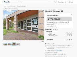 Nieuwe eigenaar legt bijna 8 ton neer voor Gemerts politiebureau