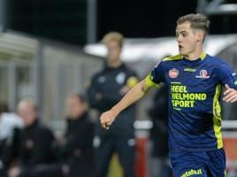 Sander Vereijken met zevenmijlslaarzen van amateur naar prof: 'Had voetbaldroom al weggegooid'